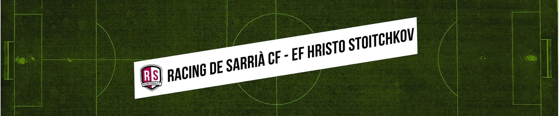 RACING DE SARRIA CF- EF HRISTO STOITCHKOV